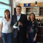 Le PRIX LALLEMAND ITALIE 2011 a été attribué à l'auteur d'un mémoire de maîtrise sur la biodiversité des bactéries malolactiques