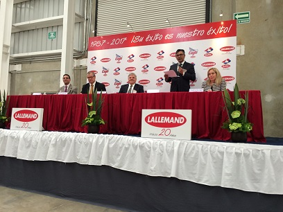 Lallemand Mexico Inaugurates New Premises